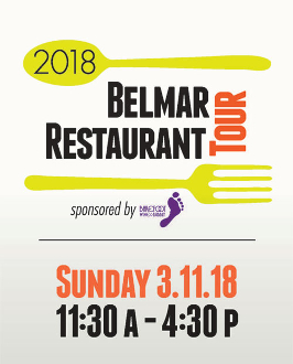 10th Annual Belmar Restaurant Tour Advance Ticket