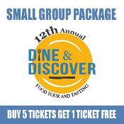 Belmar Dine & Discover Small Group